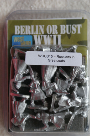Westwind 28mm WRUS-15 Russians with Rifles in Greatcoats
